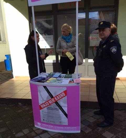 I policija podupire našu akciju